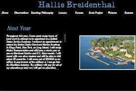 Hallie Breidenthal | CAPS Teacher Education ePortfolios | Scoop.it