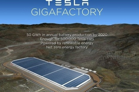 If Tesla's Gigafactory can run on 100% renewable energy, why can't others?   my universe   Scoop.it