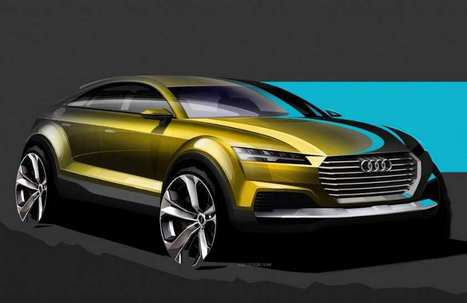 Audi Q4 SUV Concept Sketches Revealed | Youthcollection47 | Youth Collection 47 | Scoop.it