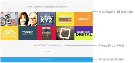 Somebody. Créez un site personnel à votre nom – Les outils de la veille | Tout pour le WEB2.0 | Scoop.it