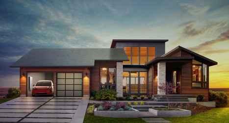 Après les voitures, Tesla investit dans la toiture | Elan Bâtisseur | Scoop.it