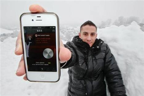 ISIS : Une application iPhone pour les victimes d'avalanches ... | Marketing des stations de ski | Scoop.it