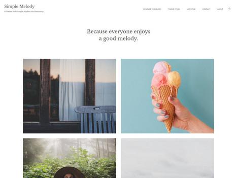 20 Free Minimalistic Wordpress Themes for Blogs, Portfolio | El Mundo del Diseño Gráfico | Scoop.it