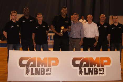 Kevin Dinal élu MVP du premier Camp LNB | Basket ball , actualites et buzz avec Fasto sport | Scoop.it
