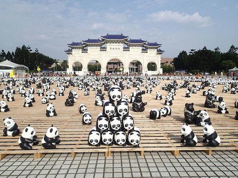 Pack of 1,600 Papier-Mâché Pandas Raise Global Awareness   IELTS, ESP, EAP and CALL   Scoop.it