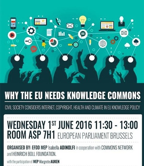Roundtable: Why the EU needs Knowledge Commons   Commons Network   Science ouverte - Open science   Scoop.it