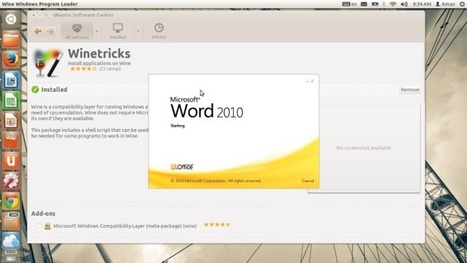 Installing MS Office in Ubuntu in A Few Steps Using Winetricks | Learn New Things Daily | Scoop.it