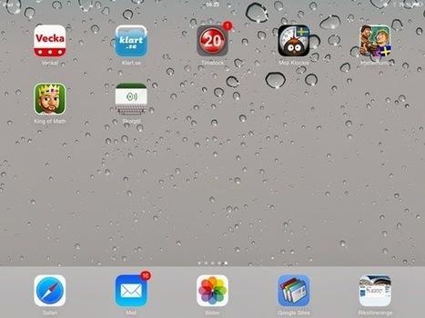 iPadlärvux | Camillas samlade pedagogiska bloggar, länkar etc. | Scoop.it