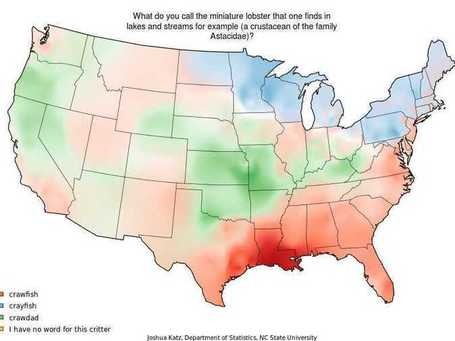 22 Maps That Show How Americans Speak English Totally Differently From Each Other | LOS 40 SON NUESTROS | Scoop.it