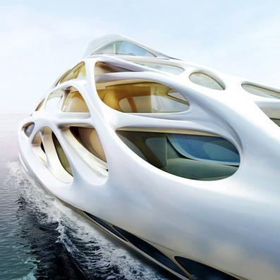Superyacht by Zaha Hadid for Blohm+Voss - Dezeen   Zaha Hadid Architects   Scoop.it