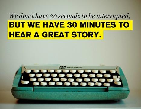 Dallo Storytelling allo Storybranding   yocrowd   happymarketing   Scoop.it