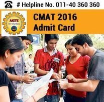 CMAT 2016 Admit Card   Education:Education and Career is life   Scoop.it