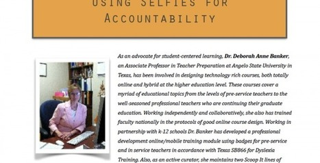 Using Selfies for Accountability - ICT in Practice | Technology in Education | Scoop.it