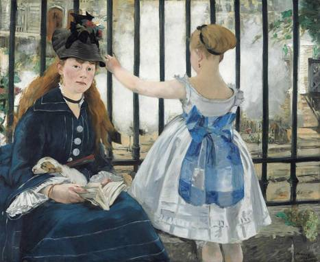 Before Facebook, there was Manet, painting friends - Relationship between photography & portraiture | Studio Art and Art History | Scoop.it