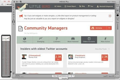 Meet the Top 1000 Community Managers on Twitter, Globally - Little Bird | Community Managers | Scoop.it