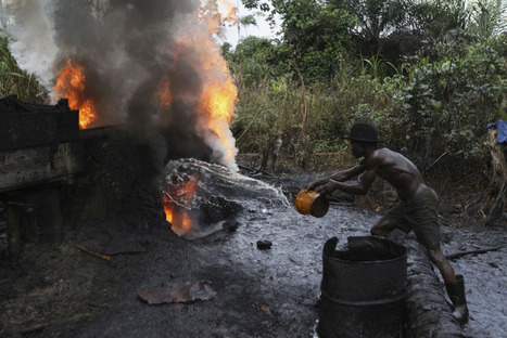 """Nigeria's Illegal Oil Refineries 
