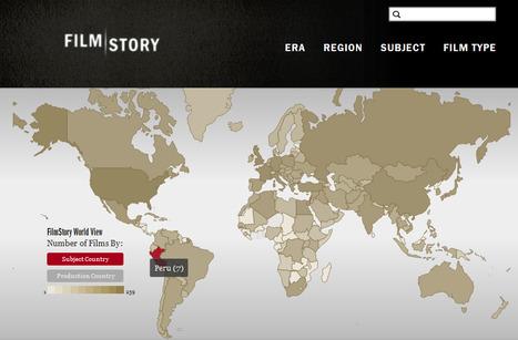 Descubre la filmografía histórica de cada país con esta herramienta | Educación de calidad | Scoop.it
