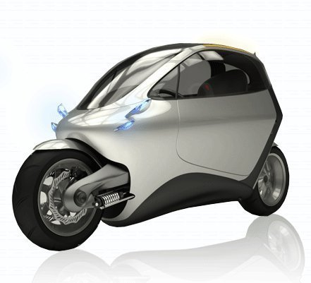 electric motorcycle enclosed - photo #15