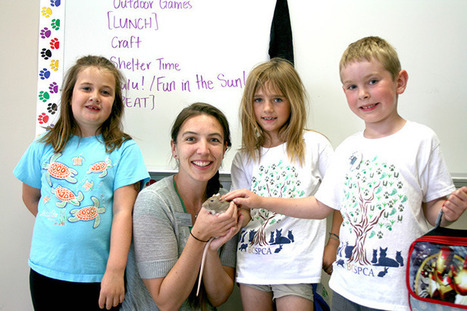SPCA teaches animal empathy at summer camp in Victoria | Emotional Intelligence and Social Emotional Learning | Scoop.it