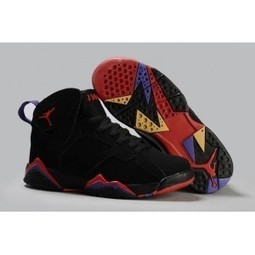 Cheap Air Jordan 7 Retro Defining Moments Black Silver Red For Sale | Basketball | Scoop.it