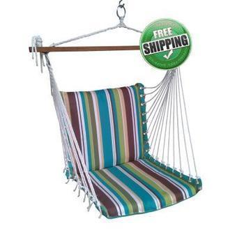 Polyester Premium Cushioned Garden Swing Chair with Best Price in India | Hammocks in India | Scoop.it