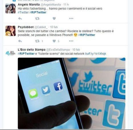 Come funziona la nuova timeline di rilevanza di Twitter | marketing personale | Scoop.it