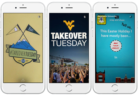 Twitter, Snapchat, and Instagram Takeovers | Student Affairs and Technology | The Social Media Advisor | Scoop.it