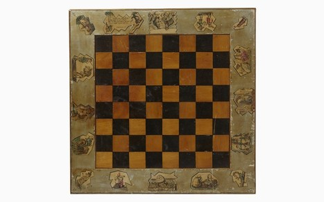 Authentic 'Alice Through the Looking Glass' chess board discovered - Telegraph | Read Read Read | Scoop.it