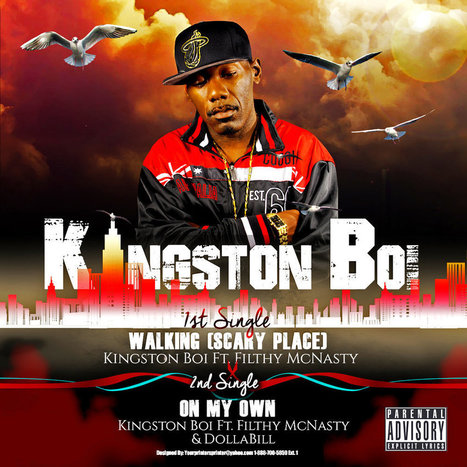 "Kingston Boi's Single ""Scary Place (Walking) makes it to the Trend City Hall of Fame 
