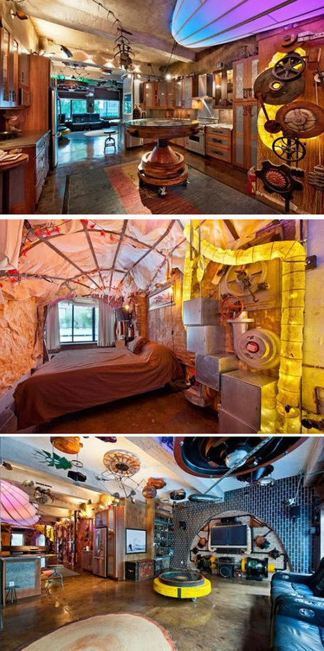 10 Coolest Themed Apartments - ODDEE | enjoy yourself | Scoop.it