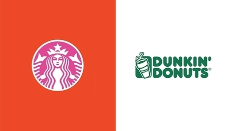 Twenty famous logos color swapped with their competitors | Ken's Odds & Ends | Scoop.it