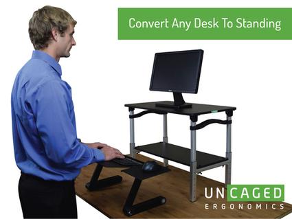 LIFT Standing Desk Conversion   Adjustable Ergonomic Stand Up Desk   Scoop.it