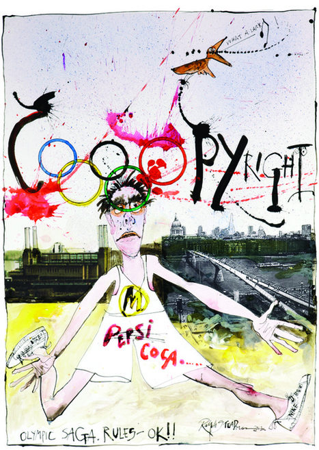 Ralph Steadman on the Olympics | New Statesman | Looks -Pictures, Images, Visual Languages | Scoop.it