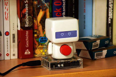 An Emotion robot for long-distance lovers   Raspberry Pi   Scoop.it