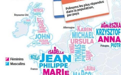 Etat-civil : neuf Français sur dix se reconnaissent dans leur prénom - Le Parisien | Nos Racines | Scoop.it