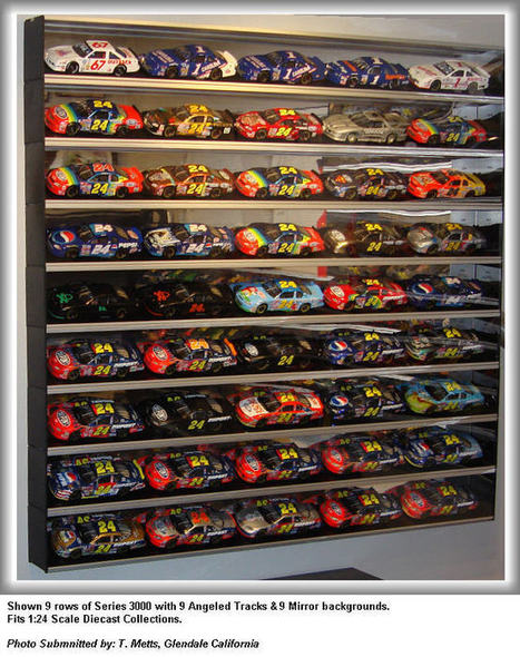 Purchase Nascar Diecast Display Case - Showcase-express.com | Best Wall Mounted Glass Display Cases | Scoop.it