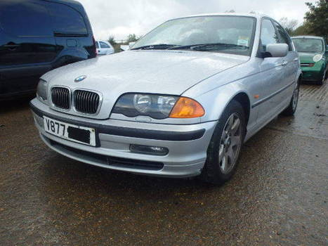 Salvage 1999 silver Bmw 328I Se Au with VIN WBAAM52050F on auction   cars   Scoop.it