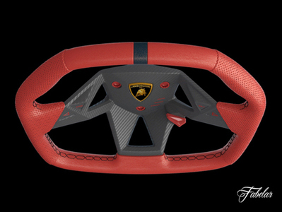 Lamborghini Sesto volant 3D Free | 3D Library | Scoop.it