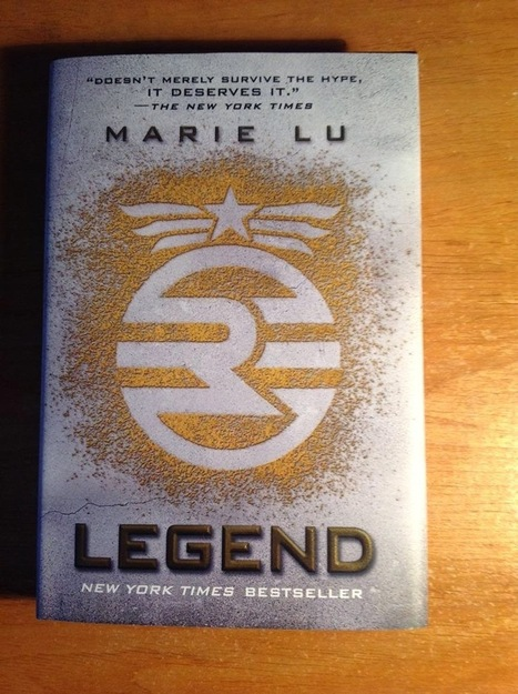 Door Stop Novels: Young Adult Fiction: Legend by Marie Lu | YAFic | Scoop.it