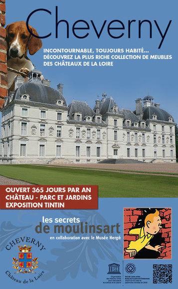 Château de Cheverny   Welcome to the Château de Cheverny   Les Châteaux de la Loire   Scoop.it