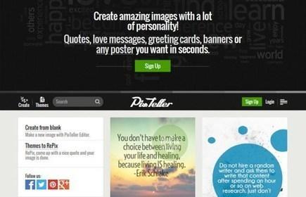 PixTeller. Créer des affiches et des posters en ligne   veille communication et webmarketing   Scoop.it