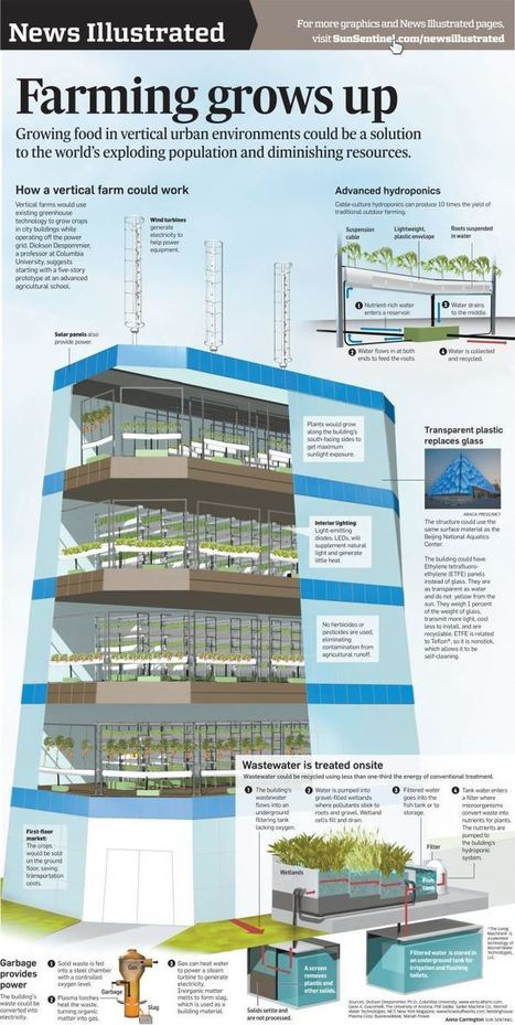 Vertical Farming Infographic | Food & Farming | Scoop.it