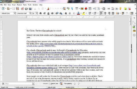 ​LibreOffice 5: The best office suite today won't cost you a dime - ZDNet | TDF & LibreOffice | Scoop.it