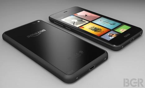 Amazon Phone : les premières photos et spécifications | FrenchWeb.fr | Economie & Médias | Scoop.it