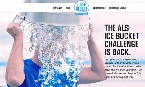 ALS Ice Bucket Challenge is BACK!  #everyaugustuntilacure #strikeoutALS | #ALS AWARENESS #LouGehrigsDisease #PARKINSONS | Scoop.it