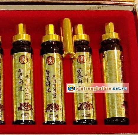 Đông trùng hạ thảo Hàn Quốc tinh chất dạng ống | face9x.com | Scoop.it