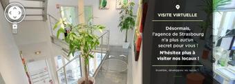 Une visite Google Maps des locaux d'une web agency | Il Était Une ... | Web development page | Scoop.it