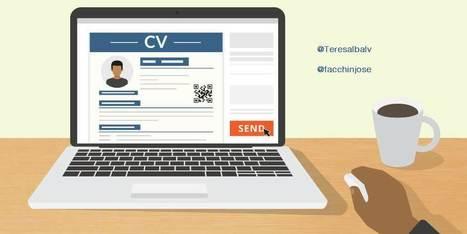 ¿Cómo hacer un CV online con plantillas? Vídeo + Infografía + Iconos gratis | Recull diari | Scoop.it