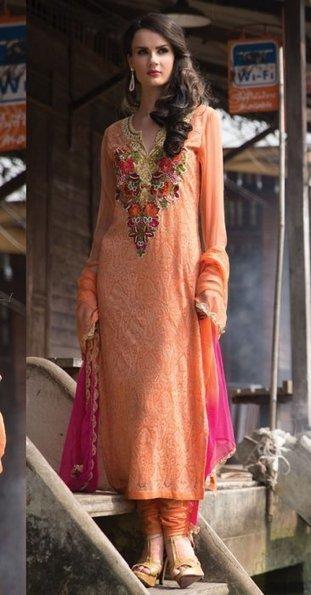 10% OFF - Bridal Churidar Salwar Kameez ORKB11 | Designer Salwar Kameez | Party Wear Salwar Kameez | Bollywood Churidar Salwar Kameez | Scoop.it