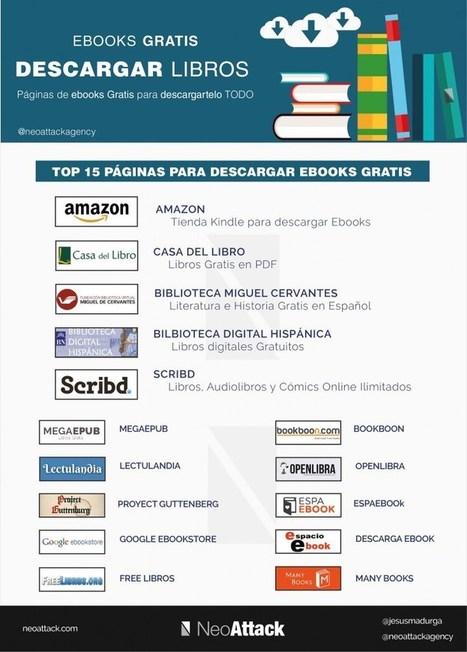15 páginas con ebooks gratis   DIDACTICA   Scoop.it